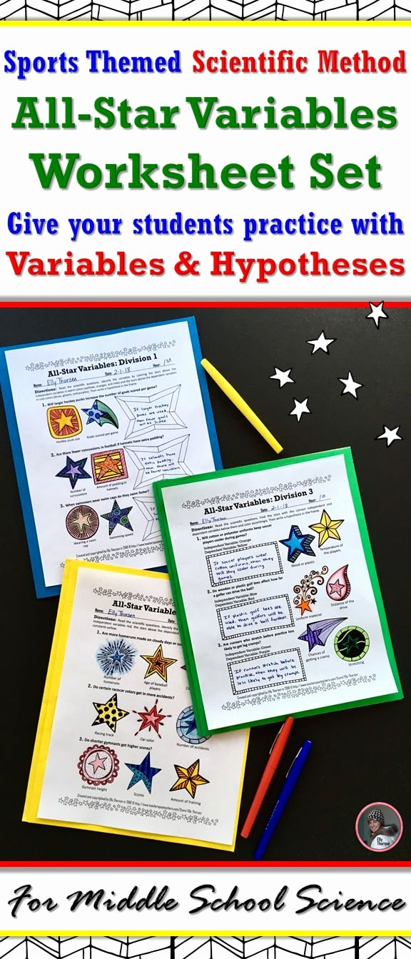Scientific Method Worksheet Middle School Unique Best 25 Scientific Method Worksheet Ideas On Pinterest