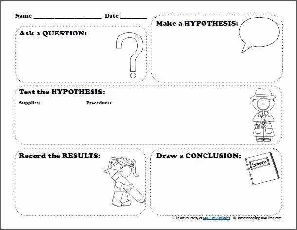 Scientific Method Worksheet Pdf Best Of Free Scientific Method Printable Worksheet