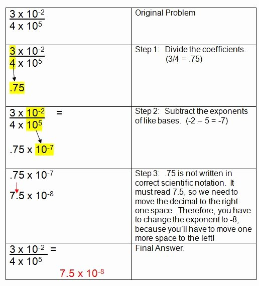 Scientific Notation Worksheet 8th Grade Awesome 8th Grade Math Scientific Notation Word Problems 8 Ee4