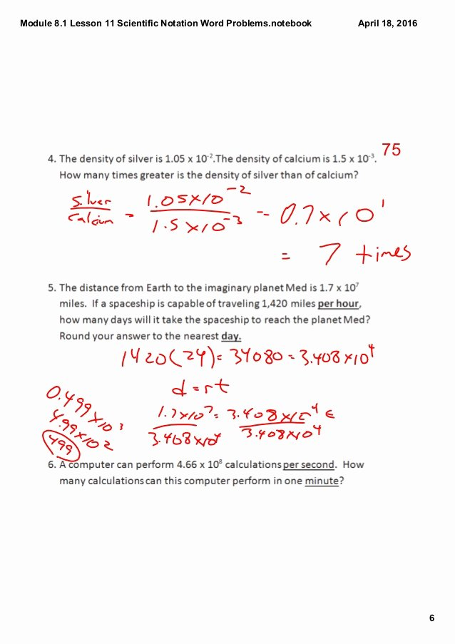 Scientific Notation Worksheet 8th Grade Awesome Scientific Notation Word Problems Worksheet 8th Grade
