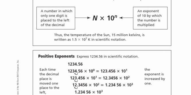 Scientific Notation Worksheet Answer Key Beautiful 24 Fresh Scientific Notation Worksheet Answer Key