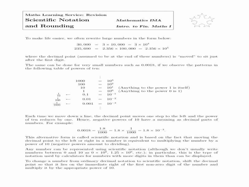 Scientific Notation Worksheet Answer Key Inspirational Multiplying and Dividing Scientific Notation Worksheet
