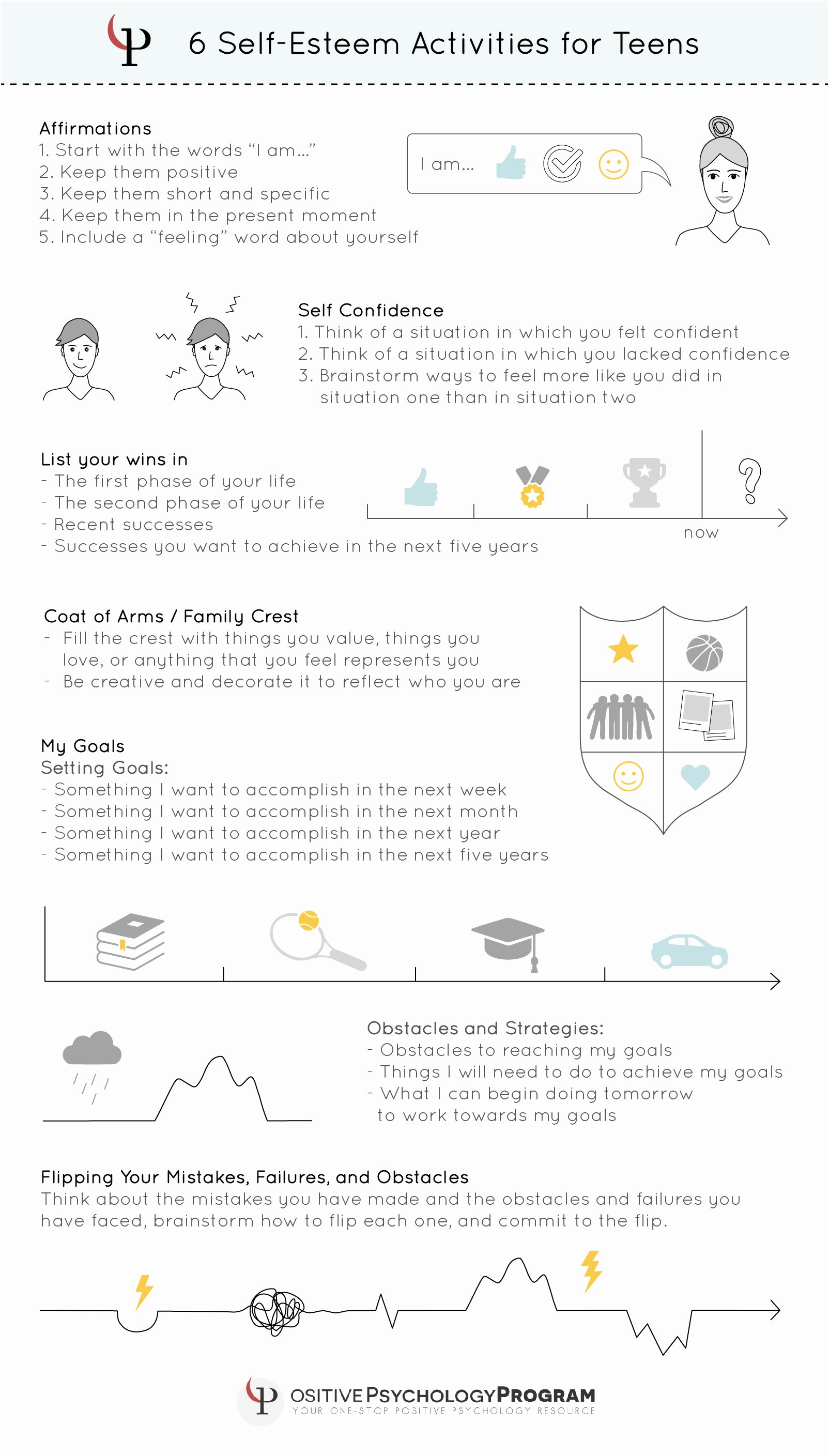 Self Esteem Worksheet for Adults Luxury 18 Self Esteem Worksheets and Activities for Teens and