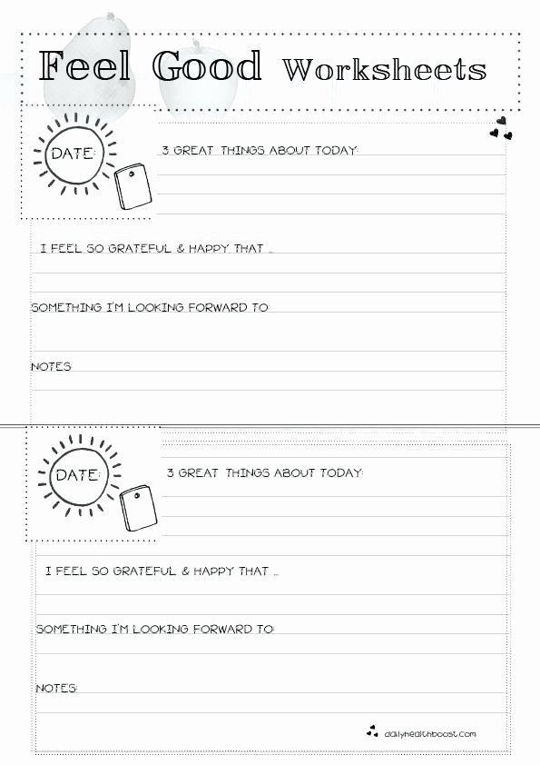 Self Esteem Worksheet for Adults Luxury 30 Self Esteem Worksheets to Print