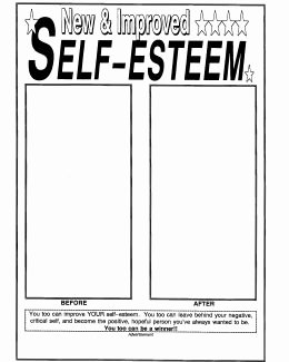 Self Esteem Worksheet for Teens Awesome 15 Best Of Self Esteem Worksheets Printable Free