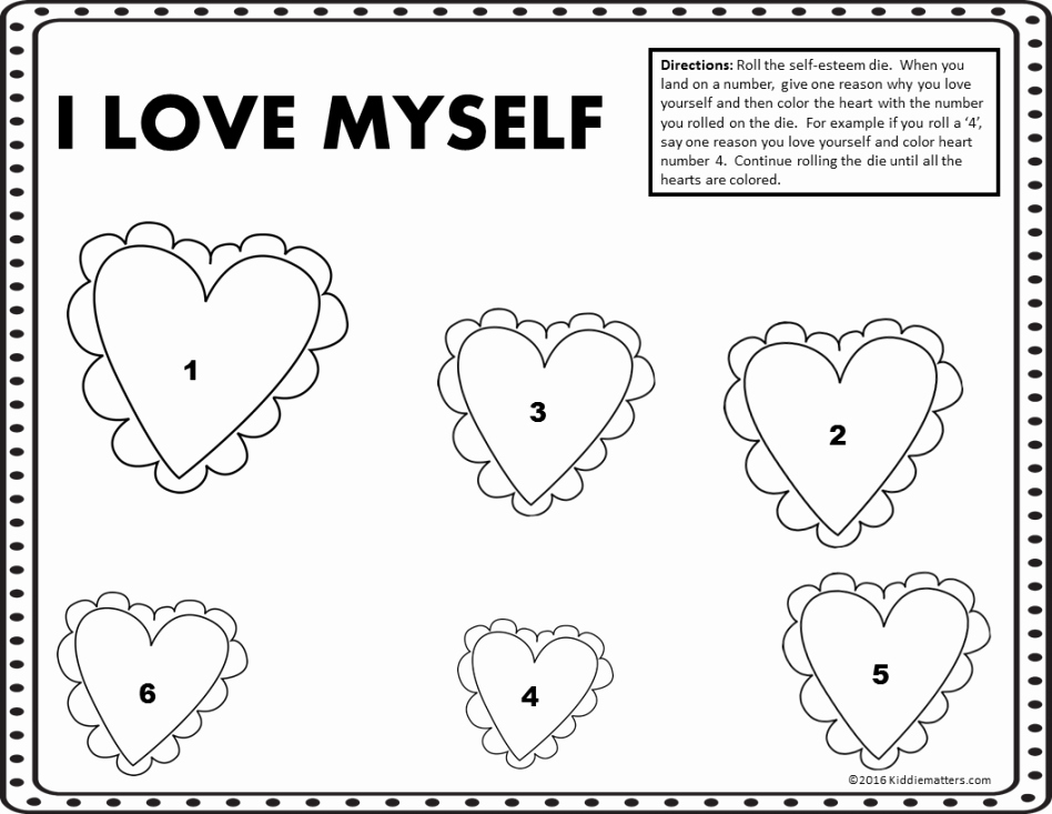 Self Esteem Worksheet for Teens Inspirational 30 Self Esteem Worksheets to Print