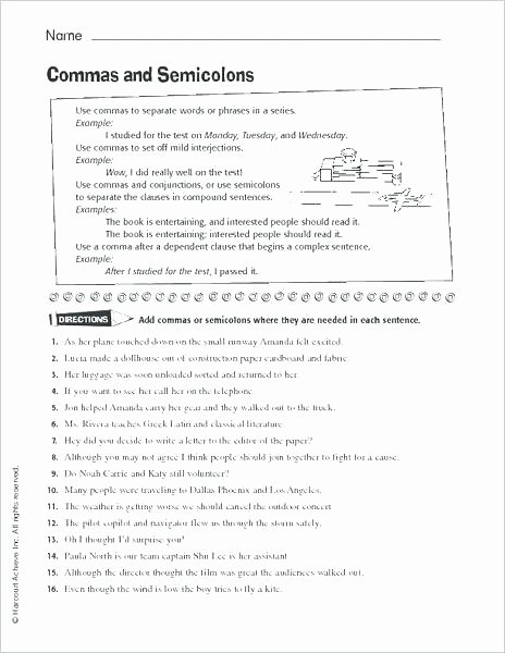 Semicolons and Colons Worksheet Inspirational Quotation Marks Quiz 2 Mark and Worksheets Mas