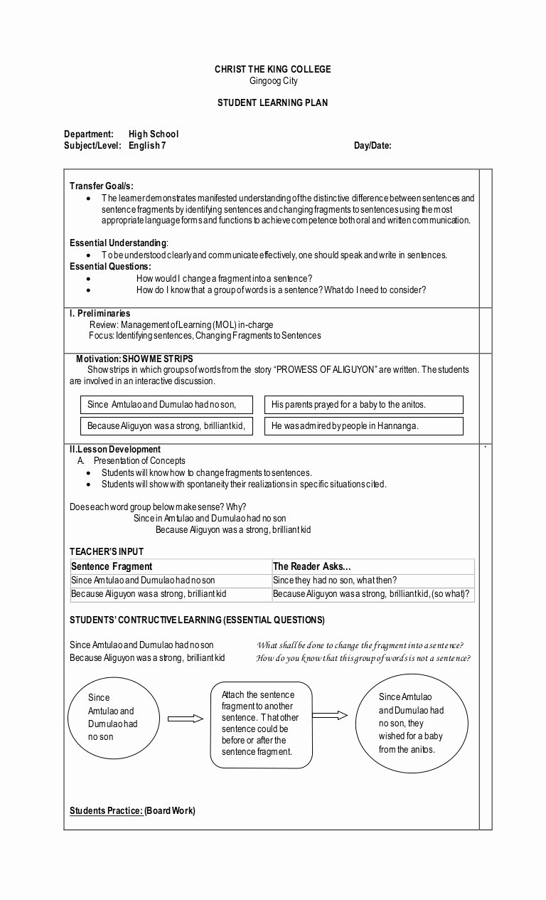 Sentence or Fragment Worksheet Inspirational Sentence Fragment Worksheet