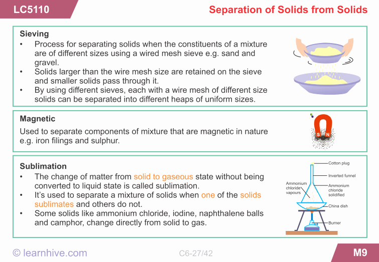 Separation Of Mixtures Worksheet Best Of Std6