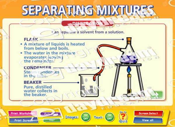 Separation Of Mixtures Worksheet Lovely Separating Mixtures