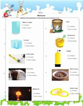 Separation Of Mixtures Worksheet Unique Mixtures Science Activities Worksheets & Games