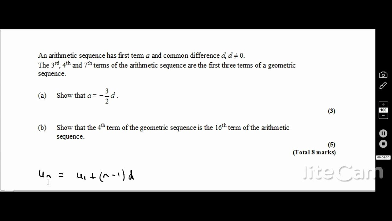 Sequence and Series Worksheet Elegant Geometric Sequence and Series for Ib Hl and Sl Students