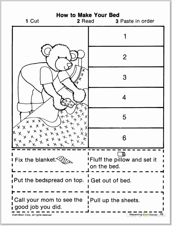 Sequence Of events Worksheet Luxury Free Story Sequencing Worksheets