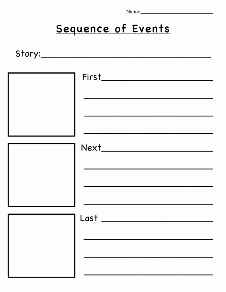 Sequence Of events Worksheet Unique 25 Best Ideas About Sequence events On Pinterest