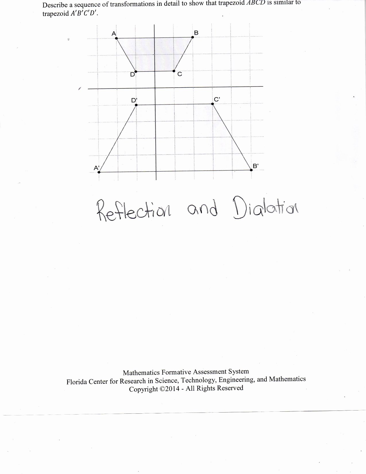 Sequence Of Transformations Worksheet Beautiful Similarity and Transformations Worksheet Casademateo