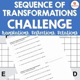 Sequence Of Transformations Worksheet Elegant Sequence Transformations Worksheets & Teaching
