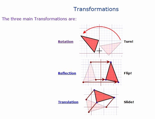 Sequence Of Transformations Worksheet Inspirational Maths Transformations Worksheet Transformation Math