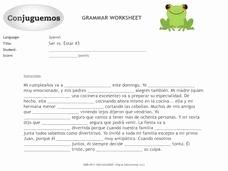 Ser Vs Estar Worksheet Lovely Ser Vs Estar 3 Worksheet for 6th 9th Grade