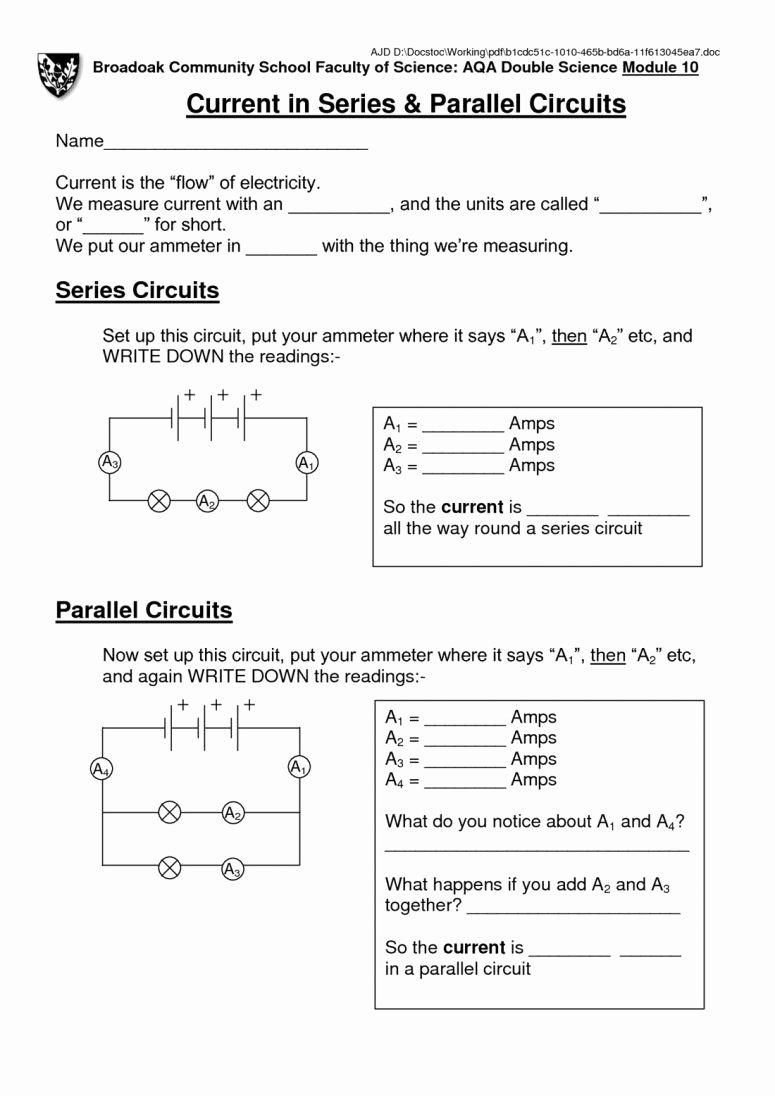 Series and Parallel Circuits Worksheet Elegant Mercantilism Dbq Worksheet Answers