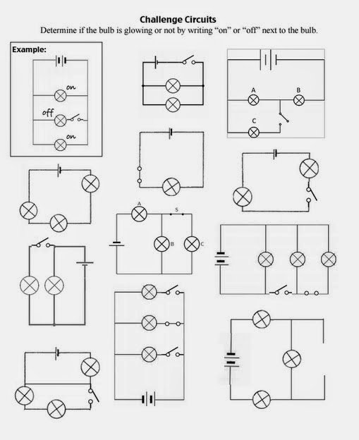 Series and Parallel Circuits Worksheet Elegant Teaching the Kid Series or Parallel Circuits