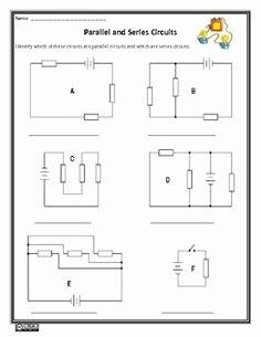 Series and Parallel Circuits Worksheet Lovely 1000 Images About 5 6b Electricity On Pinterest