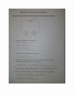 Series and Parallel Circuits Worksheet Unique Series and Parallel Circuit Worksheet with Answers by