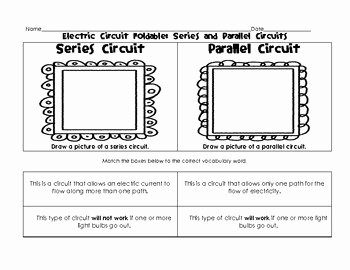 Series and Parallel Circuits Worksheet Unique Worksheets Electric and Series and Parallel Circuits On