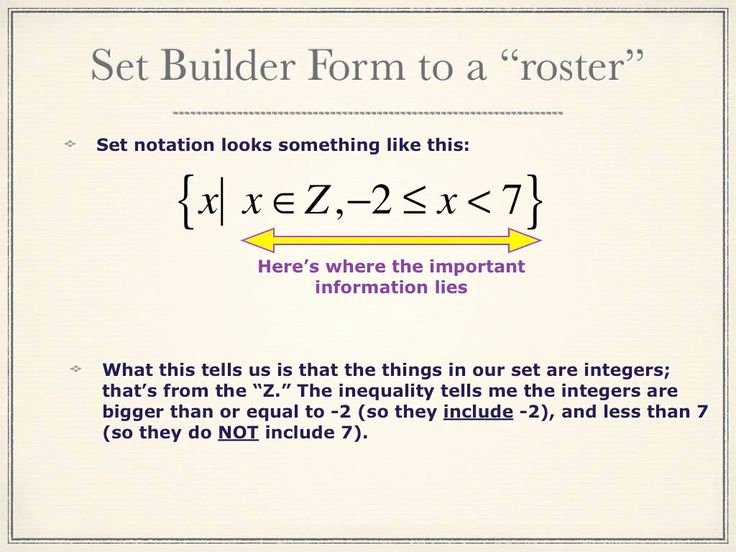Set Builder Notation Worksheet Fresh Set Builder and Roster Notations Algebra 2