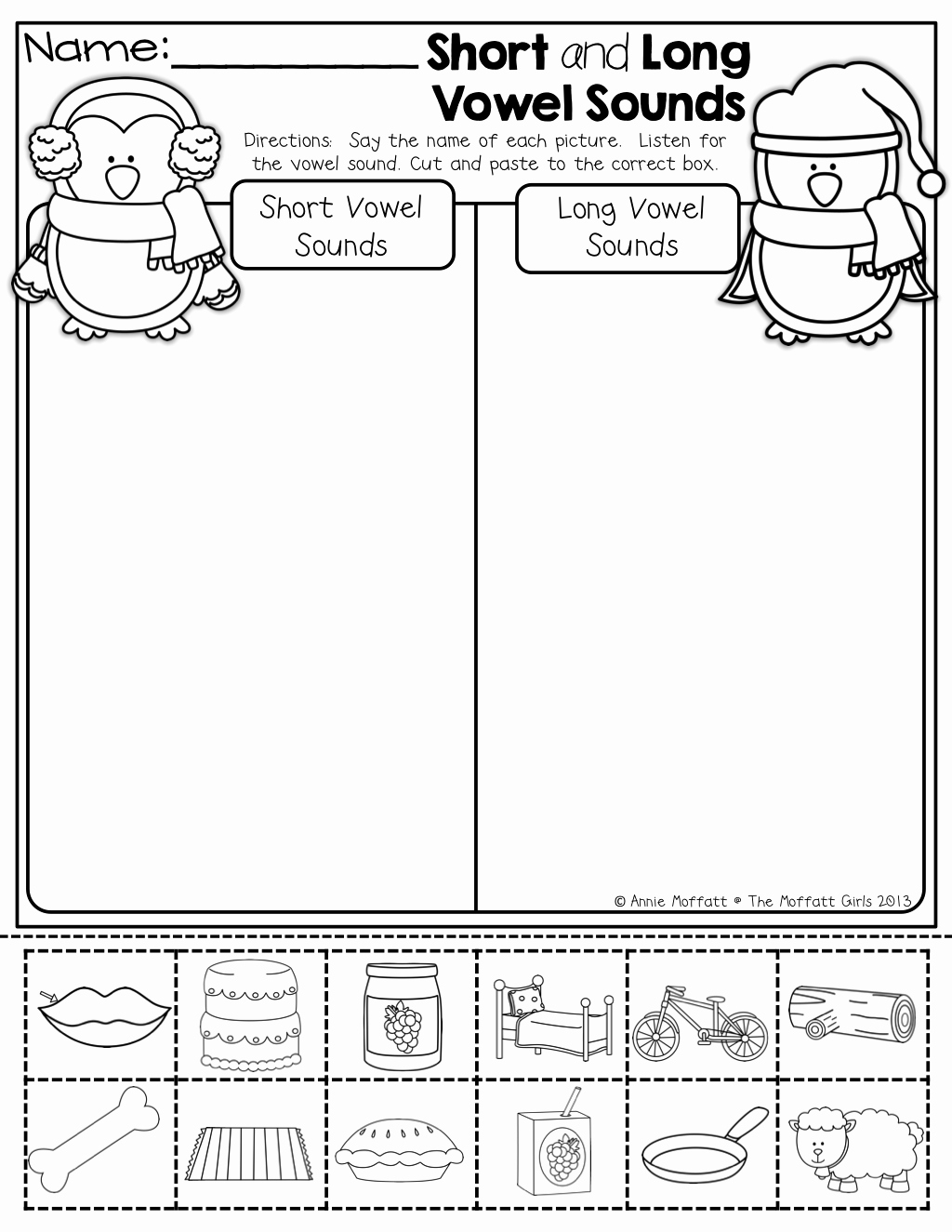Short and Long Vowel Worksheet Inspirational Short and Long Vowel sounds