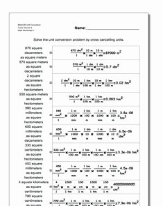 Si Unit Conversion Worksheet Unique Metric Si Unit Conversion Worksheet Grams to Milligrams