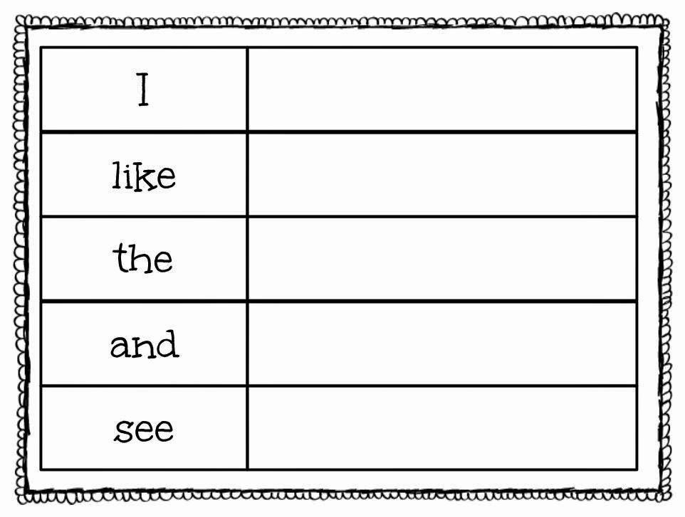 Sight Word Like Worksheet Fresh New 351 Sight Word Worksheet Here