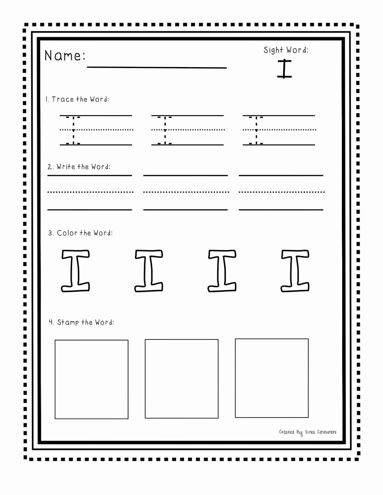 Sight Word Like Worksheet Lovely Ms C S Kinders Sight Word Practice