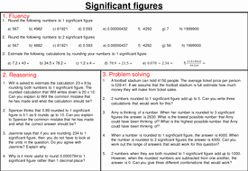 Significant Figures Worksheet Answers Lovely Rounding to Significant Figures Mastery Worksheet by
