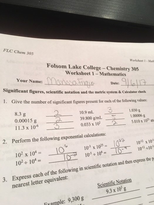 Significant Figures Worksheet Chemistry Fresh solved Give the Number Significant Figures Present for