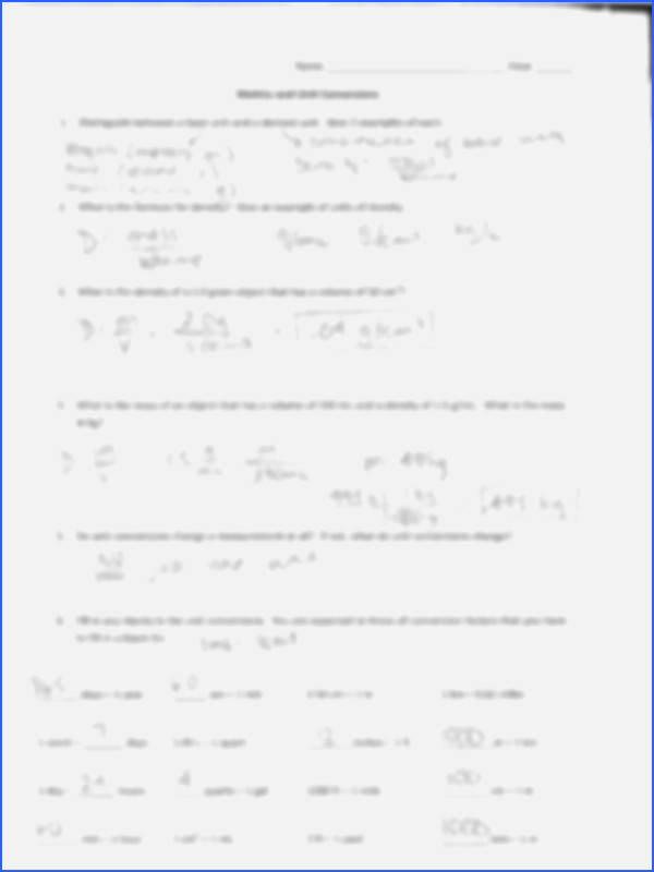 Significant Figures Worksheet with Answers Best Of Significant Figures Practice Worksheet