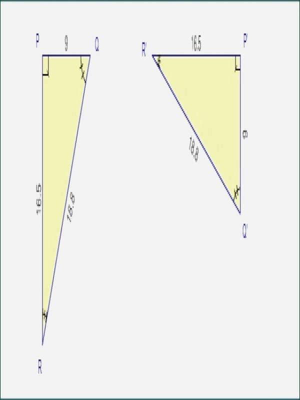Similar Figures Worksheet Answers Unique Similar Triangles Worksheet with Answers