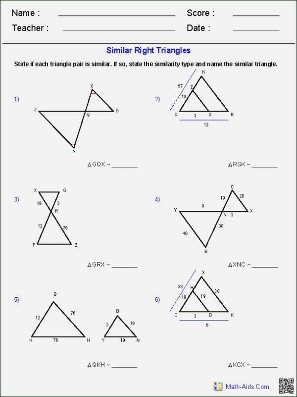 Similar Right Triangles Worksheet Beautiful Translations Rotations Reflections Dilations Kuta
