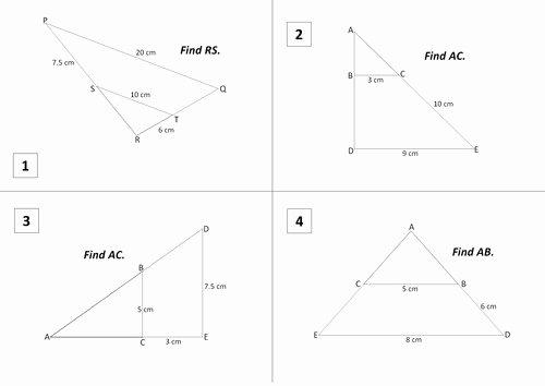 Similar Right Triangles Worksheet Fresh Similar Triangles Worksheet