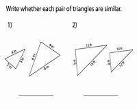 Similar Right Triangles Worksheet Fresh Similar Triangles Worksheets