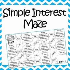 Simple Interest Problems Worksheet Best Of Worksheets and Simple On Pinterest
