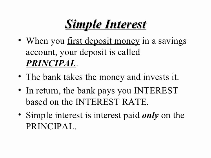 Simple Interest Worksheet Pdf Elegant 7 8 Simple and Pound Interest