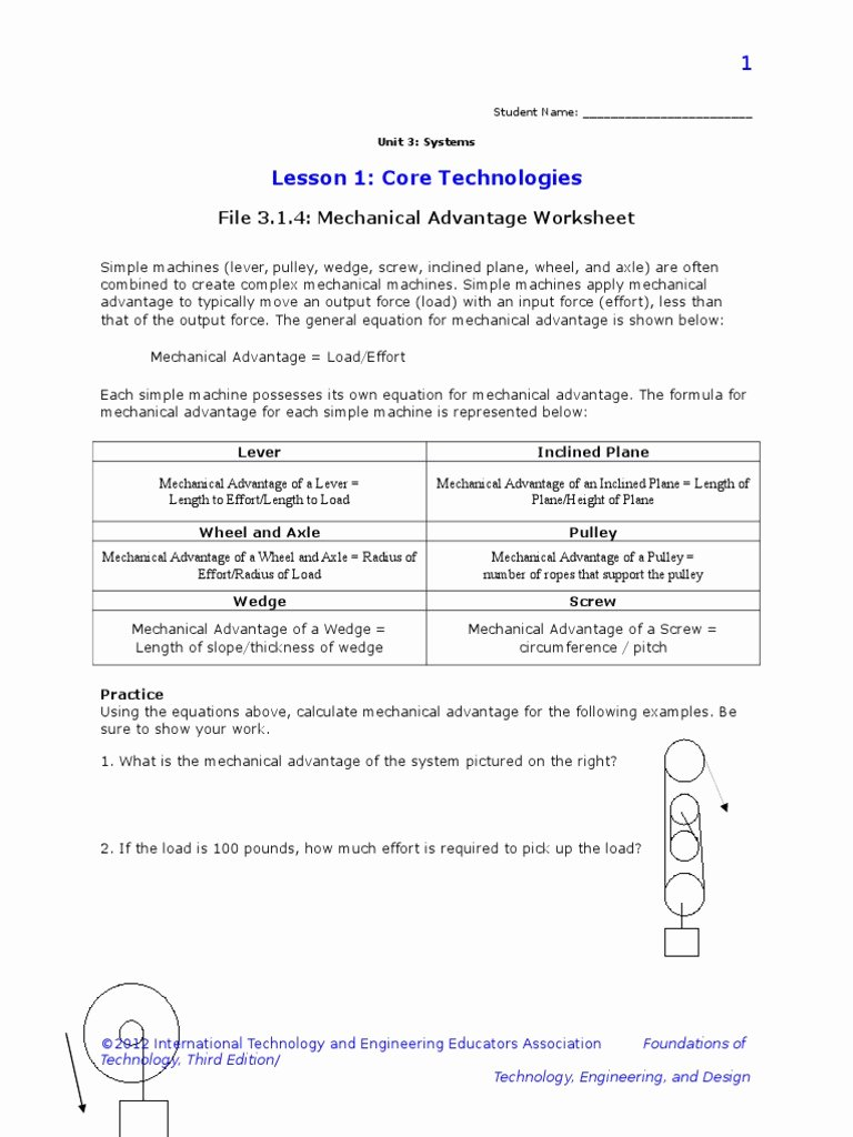 Simple Machines Worksheet Middle School Beautiful Simple Machines Worksheet Middle School – Db Excel