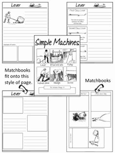Simple Machines Worksheet Middle School Best Of Here S A Nice Simple Machines Cut and Paste Activity