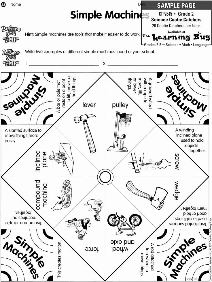Simple Machines Worksheet Middle School Fresh Simple Machines Worksheet Ks2 Google Search