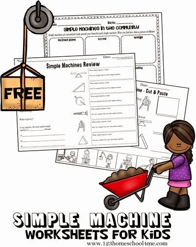 Simple Machines Worksheet Middle School New Inclined Planes Simple Machines Lesson