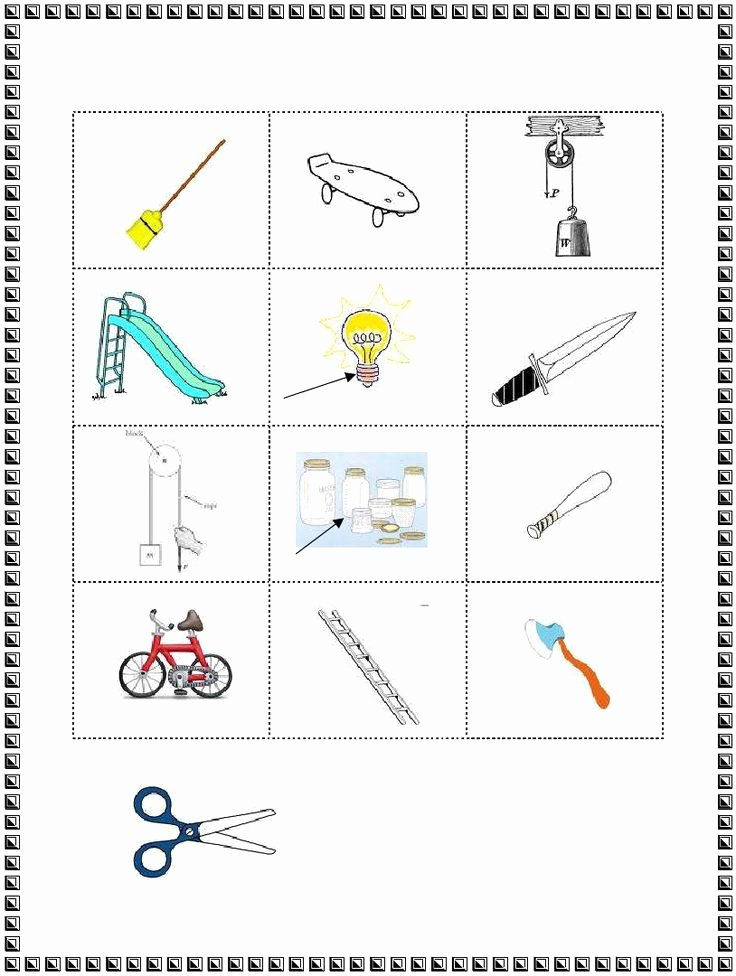 Simple Machines Worksheet Middle School Unique 3rd Grade Simple Machines Worksheet