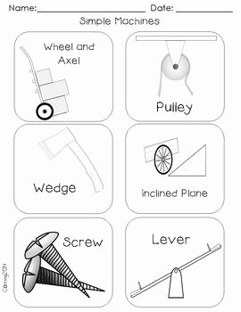 Simple Machines Worksheet Pdf Beautiful Simple Machines Reading Street Grade 1 by the Teachers