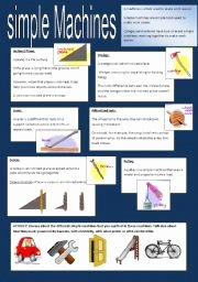 Simple Machines Worksheet Pdf Elegant English Worksheet Simple Machines
