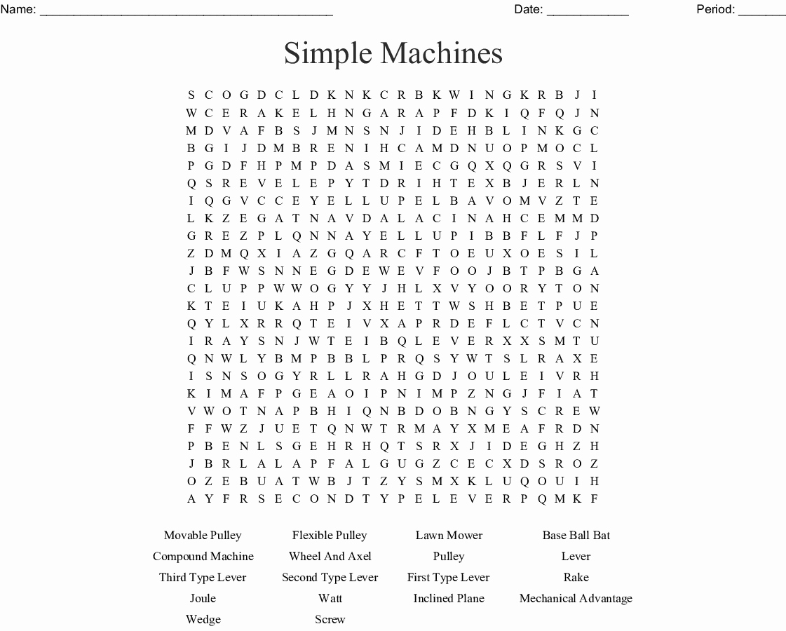 Simple Machines Worksheet Pdf Elegant Simple Machines Worksheet Answers Classifying Review