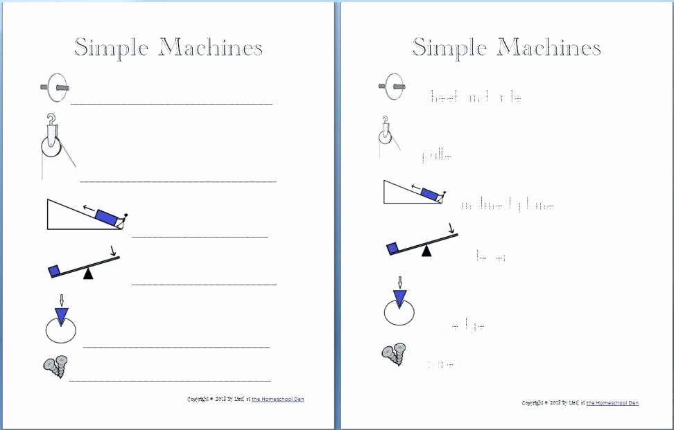 Simple Machines Worksheet Pdf Unique Simple Machines Worksheets for Fifth Grade 5 – Skgold
